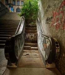 Rolltreppe an der Maximilianstraße