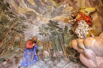 Jesus im Ölgarten